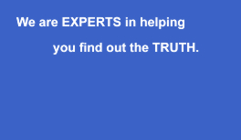 Experts At Finding The Truth - detective Bristol