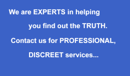 Professional and Discreet - private eye Bristol
